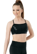 Balera Metallic Racerback Sports Bra Top