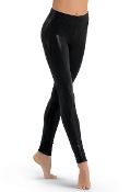 Balera Mid-Rise Metallic Dance Leggings