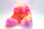 Fuzzy Soakers Crazy Fur - Orange, Pink, Purple