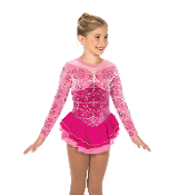 Jerry's 162 Rembrandt Rose Ice Skating Dress