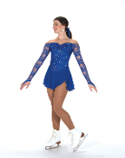 Jerry's 246 Luxe Lace Figure Skating Dress