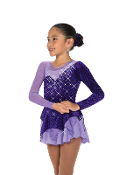 Jerry's 189 Diamonds on Asters Skating Dress