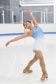 Jerry's 250 Snow Blue Figure Skating Dress