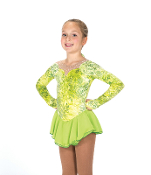 Jerry's 164 In the Nick of Lime Ice Skating Dress