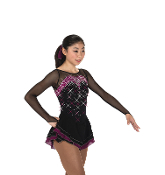 Jerry's 252 Crystal Cavalcade Figure Skating Dress