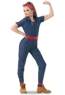 Rosie the Riveter Dance Costume