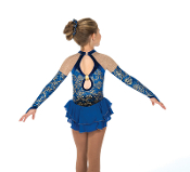 Jerry's 173 Rhapsody in Royal Ice Skating Dress