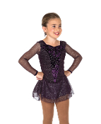 Jerry's 185 Night Violet Ice Skating Dress