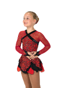 Jerry's 186 Crimson Cavalcade Ice Skating Dress