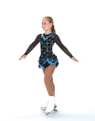 Jerry's 198 Calligraphy Ice Skating Dress