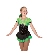 Jerry's 203 Splash of Lime Ice Skating Dress