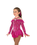 Jerry's 204 Ruffled Radiance Ice Skating Dress
