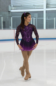 Jerry's 241 Lace Embrace Figure Skating Dress