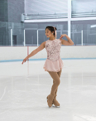 Jerry's 242 Petal Soft Figure Skating Dress