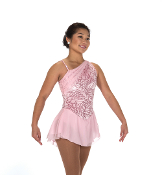 Jerry's 235 Pearly Pink Figure Skating Dress