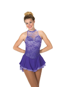 Jerry's 217 Lace on Lilacs Ice Skating Dress