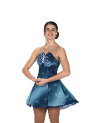 Jerry's 243 Baronial Blue Ice Skating Dress