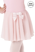 Balera Kids Bow Accent Skirt