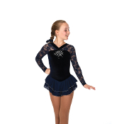 Jerry's 12 Ooh La Lace Figure Skating Dress