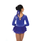 Jerry's 17 Royal Purple Figure Skating Dress