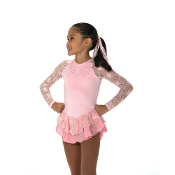 Jerry's 18 Ribbon Lace Figure Skating Dress