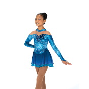 Jerry's 35 The Teal Deal Figure Skating Dress