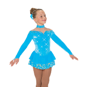 Jerry's 50 Oh So Blue Ice Skating Dress