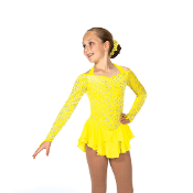 Jerry's 57 Diamond Daffodil Figure Skating Dress