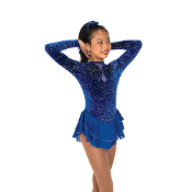 Jerry's 58 Loops & Hoops Figure Skating Dress