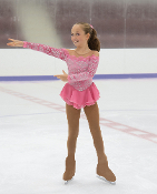 Jerry's 68 Edges Of Petals Figure Skating Dress