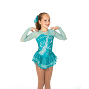 Jerry's 69 Jade And Jasper Figure Skating Dress