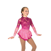 Jerry's 76 In The Pink Of Things Figure Skating Dress