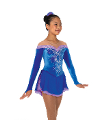 Jerry's 78 Spins & Spirals Figure Skating Dress