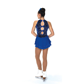 Jerry's 79 Swoop Of Loops Figure Skating Dress