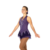 Jerry's 88 Icicles & Amethysts Ice Skating Dress