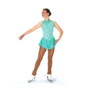 Jerry's 93 Mint Julep Figure Skating Dress