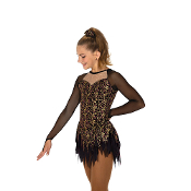 Jerry's 90 Georgia Gold Figure Skating Dress