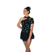 Jerry's 97 Trio Drop Figure Skating Dress