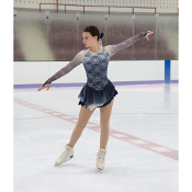 Jerry's 99 Storm Cloud Ice Skating Dress