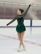 Jerry's 120 Once Upon A Pine Figure Skating Dress