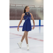 Jerry's 121 Cobaltica Figure Skating Dresss