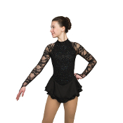 Jerry's 131 Obsidiana Figure Skating Dress