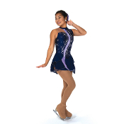 Jerry's 141 Cascade Figure Skating Dress