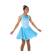 Jerry's 142 Glittering Glaciers Dance Skating Dress
