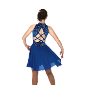 Jerry's 144 Bolero Blue Dance Skating Dress