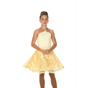Jerry's 147 Gold Dust Dance Skating Dress