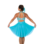Jerry's 154 Sea Lace Samba Dance Skating Dress