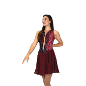 Jerry's 156 Merlot Dance Dance Skating Dress