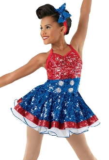 Americano Dance/Skating Costume