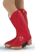 Sequin Cowgirl Boot Spats